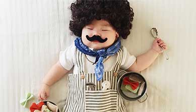 Sleeping Baby Costume